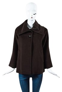 Carolina Herrera Button Brown Jacket