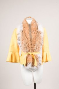 Carolina Herrera Yellow Wool Jacket