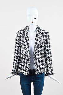 Carolina Herrera Black White Multi-Color Jacket