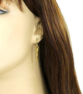 Carrera y Carrera Carrera Y Carrera 18k Yellow Gold Diamonds Ladies Woman Dangle Earrings