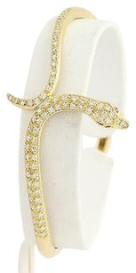 Carrera y Carrera Carrera Y Carrera Diamond Ruby Serpent Bangle 12 - 18k Gold Snake Bracelet