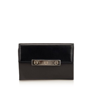 Cartier Black,card Holder,leather,others,6hcacd001