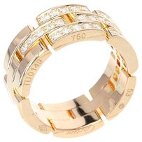 Cartier CARTIER 18K pink gold Panthere Ring US Ring Size: 6.25