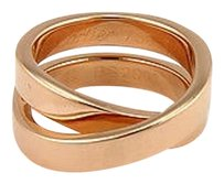 Cartier Cartier 18k Rose Gold Nouvelle Vague Paris Crossover X Designer Ring -