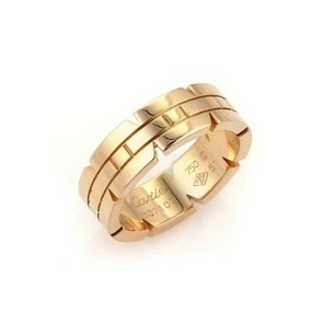 Cartier Cartier 18k Rose Gold Tank Francaise 6mm Band Ring - Eu 51-us 5.75