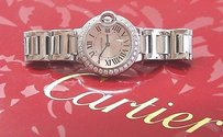 Cartier Cartier Ballon Bleu 28mm 18kt White Gold Quartz Diamond Watch 85325mx