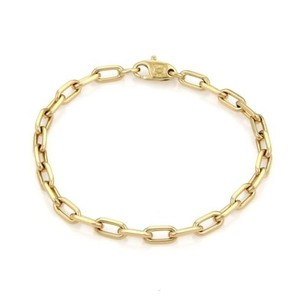 Cartier Cartier Spartacus 18k Yellow Gold Oval Chain Link Bracelet 7.5 Long