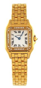 Cartier Cartier Panther 18k Gold Factory Diamond 22mm Watch