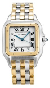 Cartier CARTIER PANTHERE W25028B8 STEEL AND YELLOW GOLD UNISEX WATCH