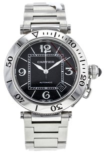 Cartier Cartier Pasha Seatimer 40mm W31077M7 Stainless Steel Men's Watch CRTSST9