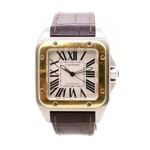 Cartier Cartier Santos De Cartier 100 W20107X7 Men's Automatic Watch