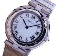 Cartier Cartier Swiss Made Stainless Steel Quartz Mid 32mm Unisex Watch C2000 J777