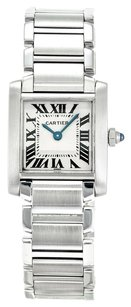 Cartier CARTIER TANK FRANCAISE W51008Q3 STAINLESS STEEL LADIES WATCH