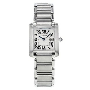 Cartier Cartier Tank Francaise White Dial Ladies Watch 2465