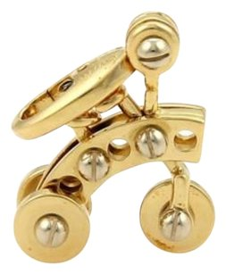 Cartier Cartier Tricycle Charm Pendant In 18k Two Tone Gold