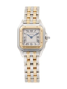 Cartier Cartier Panthere 18K Yellow Gold and Stainless Steel Ladies Watch