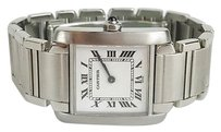 Cartier Cartier Tank Francaise 2301 Stainless Steel Ladies Max065239