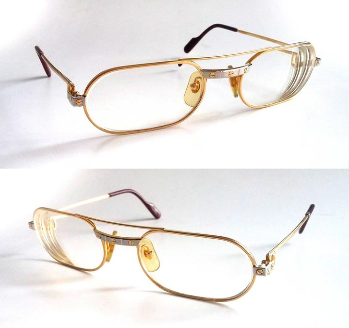 Cartier Gold C-decor Sunglasses/Eyeglasses Frames Sunglasses - Tradesy
