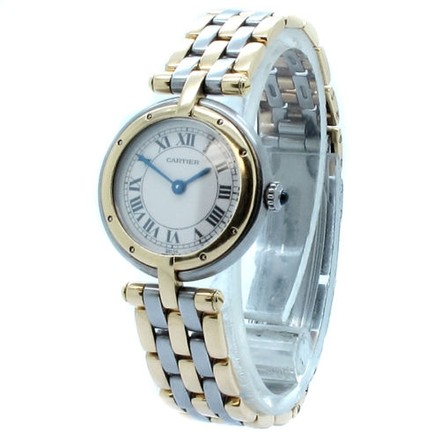 Cartier Cartier Panthere VLC Steel 18K Yellow Gold Four Row Ladies Watch