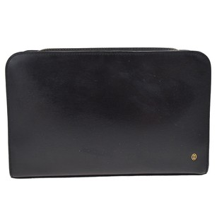 Cartier Hand Black Clutch