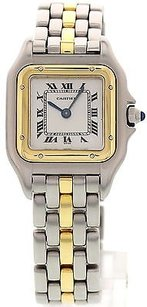 Cartier Ladies Cartier Panthere 18k Yellow Gold Stainless Steel