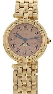 Cartier Ladies Cartier Panthere Vendome 18k Yellow Gold Moonphase