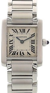 Cartier Ladies Cartier Tank Francaise Stainless Steel 2300