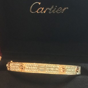Cartier love diamond pave