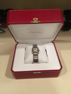 Cartier New Tank Francaise Small Watch