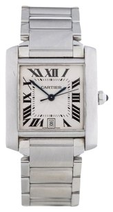 Cartier CARTIER 2302 TANK FRANCAISE STAINLESS STEEL UNISEX WATCH