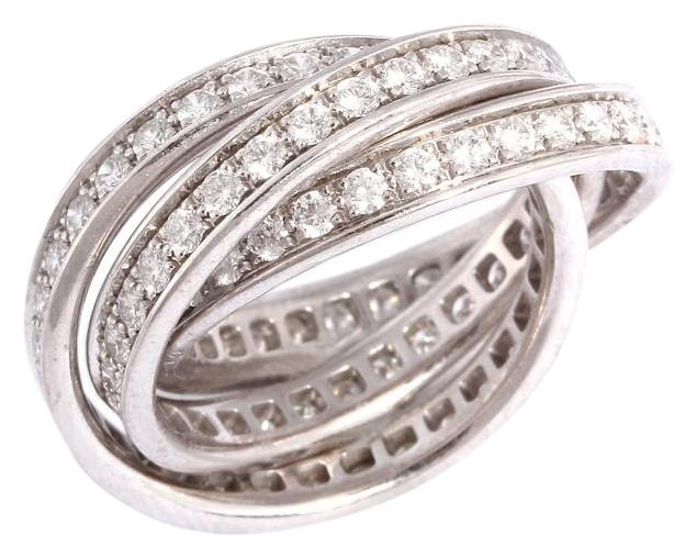 cartier white gold ring price