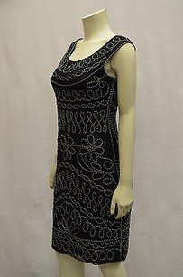 Cartise Sleeveless Corded Mesh Lined 130833tf Dress