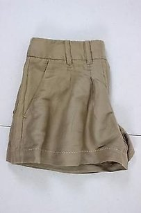 Cartonnier Womens Solid Shorts Brown
