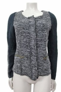 Cartonnier Glimmered Tweed gray black Jacket