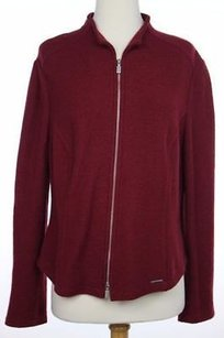 Carvela Kurt Geiger Womens Burgundy Basic Red Jacket