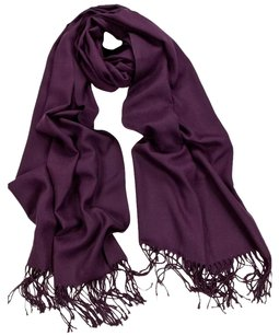 Cashmere Pashmina Group Wine Red Cashmere Scarf