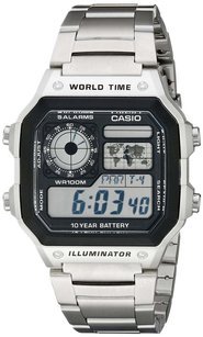 Casio Casio Men's AE1200WHD-1A Stainless Steel Digital Watch