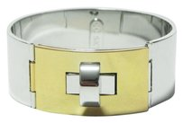CC SKYE $180 NWT CC SKYE Brentwood Bangle in Silver with Gold
