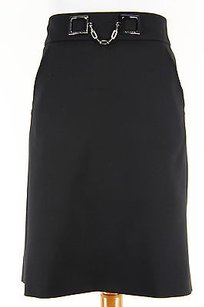 Céline Celine 249222c05 Womens Skirt Black