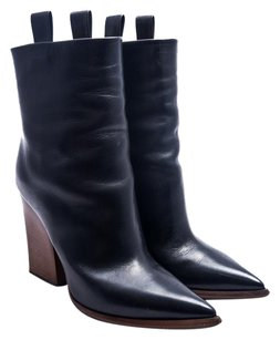 Cline Leather Black Boots
