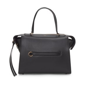 Céline Ring Leather Tote in Black