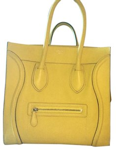 Céline Satchel in citron