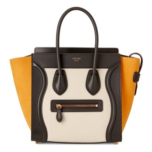 Céline Tote in Chalk & Black