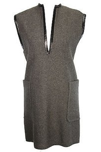 Céline short dress Grey Celine Tunic Womens on Tradesy