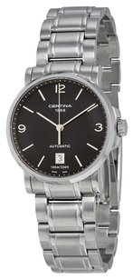 Certina Certina DS Caimano Automatic Black Dial Stainless Steel Mens Watch check stock