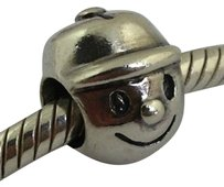 Chamilia Chamilia Sterling Silver Retired Boy Bead Charm Ge-1