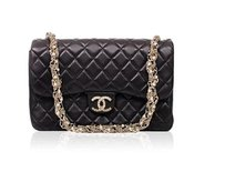 Chanel 2.55 Classic Black Clutch