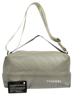 Chanel 2way Hand Nylon Tote in Gray