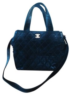 Chanel Sale sale Authentic chanel Cc quilted black shoulder bag.