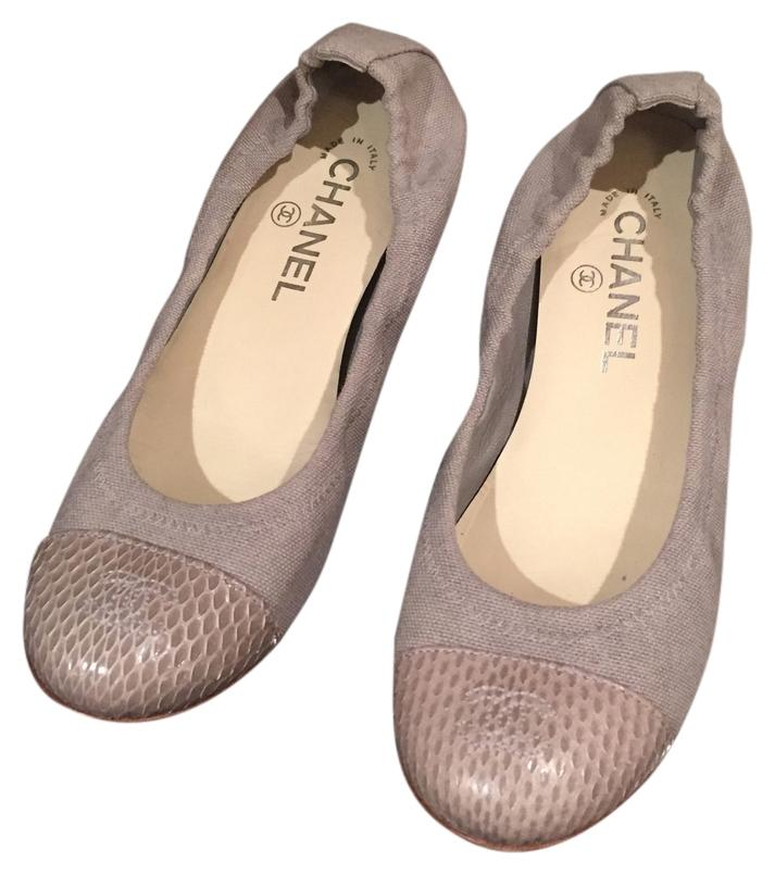 Chanel Baby Blue G Flats on Sale f